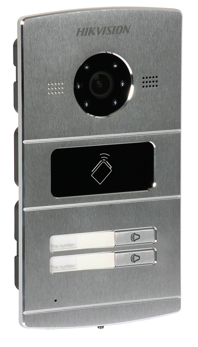 Gate/door Station: Hikvision DS-KV8202-IM (for Villa IP video door