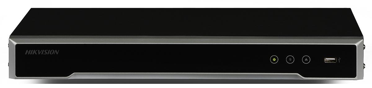 4K IP NVR: Hikvision DS-7608NI-K2/8P (8ch, 80Mbps, 2xSATA